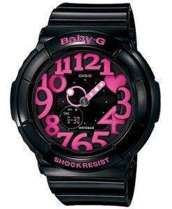 Casio Baby-G Neon Illuminator Analog-Digital BGA-130-1B Women's Watch