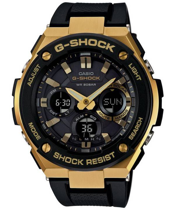 085caf98e7a Casio G-Shock G-STEEL Analog-Digital World Time GST-S100G-