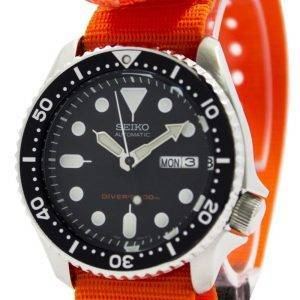 Seiko Automatic Diver's 200M NATO Strap SKX007K1-NATO7 Men's Watch