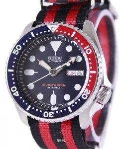 Seiko Automatic Divers 200M NATO Strap SKX009J1-NATO3 Mens Watch