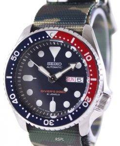 Seiko Automatic Divers 200M Army NATO Strap SKX009J1-NATO5 Mens Watch