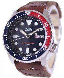 Seiko Automatic Divers Canvas Strap SKX009J1-NS1 200M Mens Watch