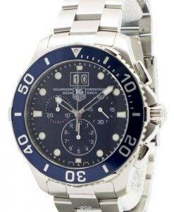 Tag Heuer Aquaracer Chronograph Grande Date CAN1011.BA0821 Mens Watch