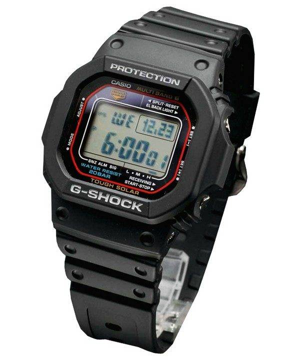 Casio G-Shock Tough Solar Multi-Band 6 GW-M5610-1JF Mens Watch Singapore d37abf1174