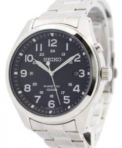 Seiko Kinetic Black Dial 100M SKA721P1 SKA721P Men's Watch