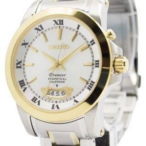 Seiko Premier Perpetual Calender SNQ148P1 SNQ148P Men's Watch