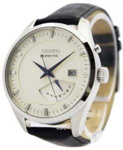 Seiko Kinetic Leather Strap SRN071P1 SRN071P Men's Watch