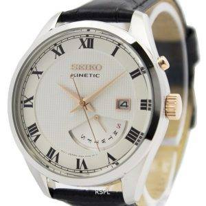 Seiko Kinetic Leather Strap SRN073P1 SRN073P Men's Watch