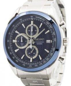Seiko Quartz Chronograph SSB177P1 SSB177P Mens Watch