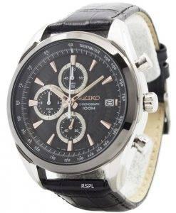 Seiko Quartz Chronograph SSB183P1 SSB183P Mens Watch