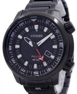 Citizen Eco-Drive Promaster GMT 200M BJ7086-57E Mens Watch