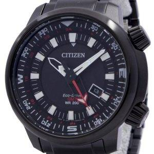 Citizen Eco-Drive Promaster GMT 200M BJ7086-57E Mens Watch