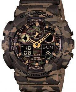 Casio G-Shock Camouflage Series Analog Digital GA-100CM-5A Mens Watch