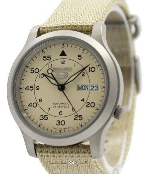 Seiko 5 Military Automatic Nylon Strap SNK803K2 Men's Watch