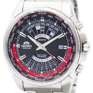 Orient Automatic Multi Year Calendar World Time EU0B001B Mens Watch