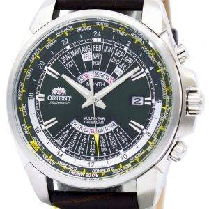 Orient Automatic Multi Year Calendar World Time EU0B003F Mens Watch