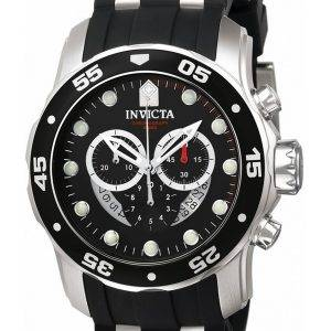 Invicta Pro Diver Chronograph Quartz 100M 6977 Mens Watch