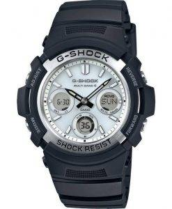 Casio G-Shock Atomic Multi Band 6 Analog Digital AWG-M100S-7AER Mens Watch
