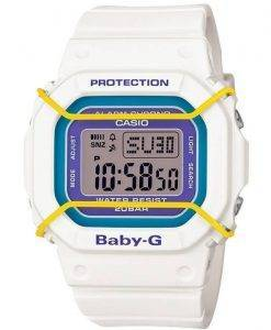 Casio Baby-G Digital Alarm Chrono World Time BGD-501-7B Womens Watch