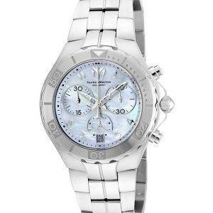 TechnoMarine Pearl Sea Collection Chronograph TM-715014 Womens Watch