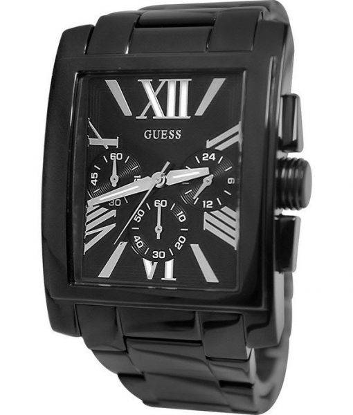 Guess Chronograph Black Stainless Steel Quartz U0009G3 Men's Watch