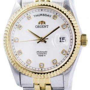 Orient Automatic Sapphire 100M Crystal Markers FEV0J002WY Mens Watch