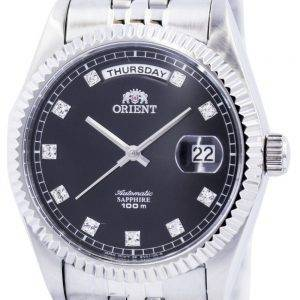 Orient Automatic Sapphire 100M Crystal Markers FEV0J003BY Mens Watch