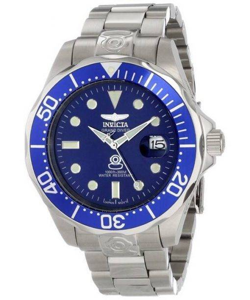Invicta Pro Diver Collection Grand Diver Automatic 300M 3045 Mens Watch