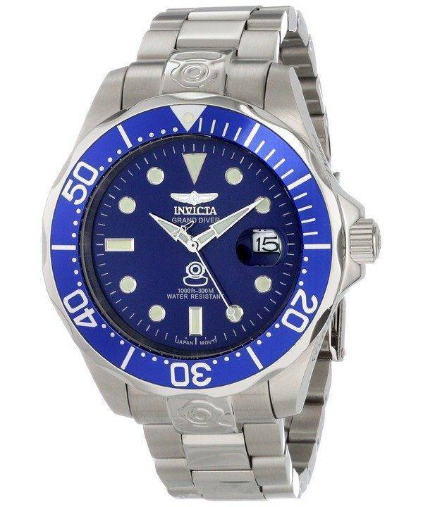 Invicta Pro Diver Collection Grand Diver Automatic 300M 3045 Mens Watch