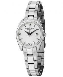Stuhrling Original Ascot Prime Crystal Accented Swiss Quartz 414L.01 Womens Watch