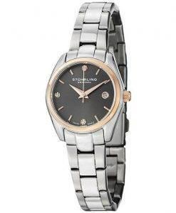 Stuhrling Original Ascot Prime Crystal Accented Swiss Quartz 414L.04 Womens Watch