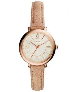 Fossil Jacqueline Quartz ES3802 Women's Watch