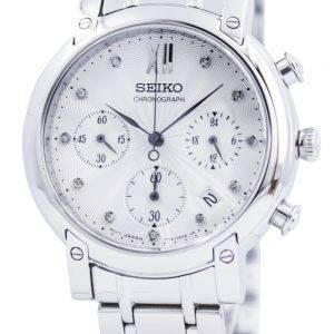 Seiko Chronograph Quartz Crystals SRW837 SRW837P1 SRW837P Womens Watch