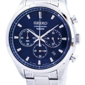 Seiko Quartz Chronograph SSB223 SSB223P1 SSB223P Mens Watch