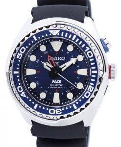 "Seiko Prospex Kinetic GMT Diver's ""PADI"" Edition SUN065P SUN065P1 SUN065P Men's Watch"