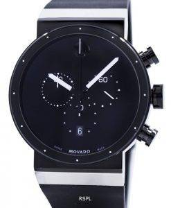 Movado Sapphire Synergy Chronograph Swiss Made Quartz 0606501 Mens Watch
