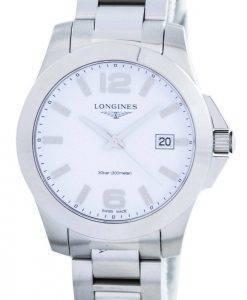 Longines Conquest Quartz Power Reserve L3.378.4.16.6 Womens Watch