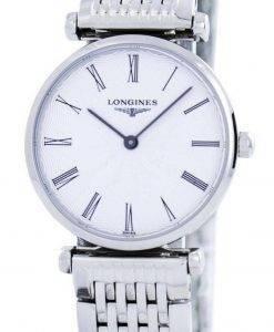 Longines La Grande Classique De Quartz Diamond Accent L4.209.4.71.6 Womens Watch