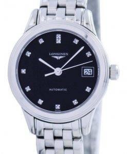 Longines La Grande Classique De Flagship Automatic Power Reserve Diamond Accent L4.274.4.57.6 Womens Watch