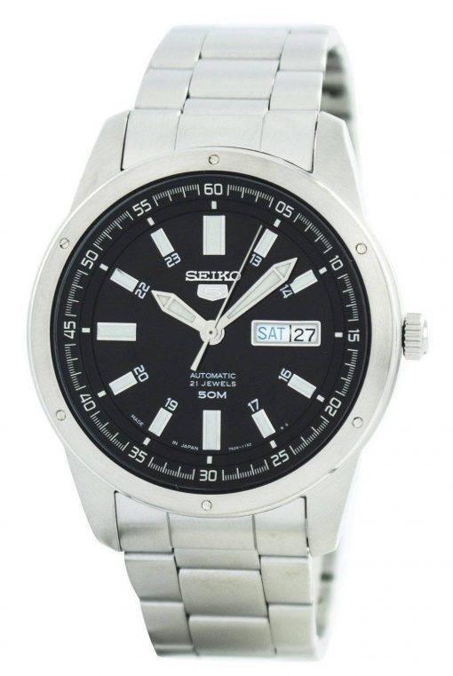 Seiko 5 Automatic 21 Jewels Japan Made SNKN13 SNKN13J1 SNKN13J Men's Watch