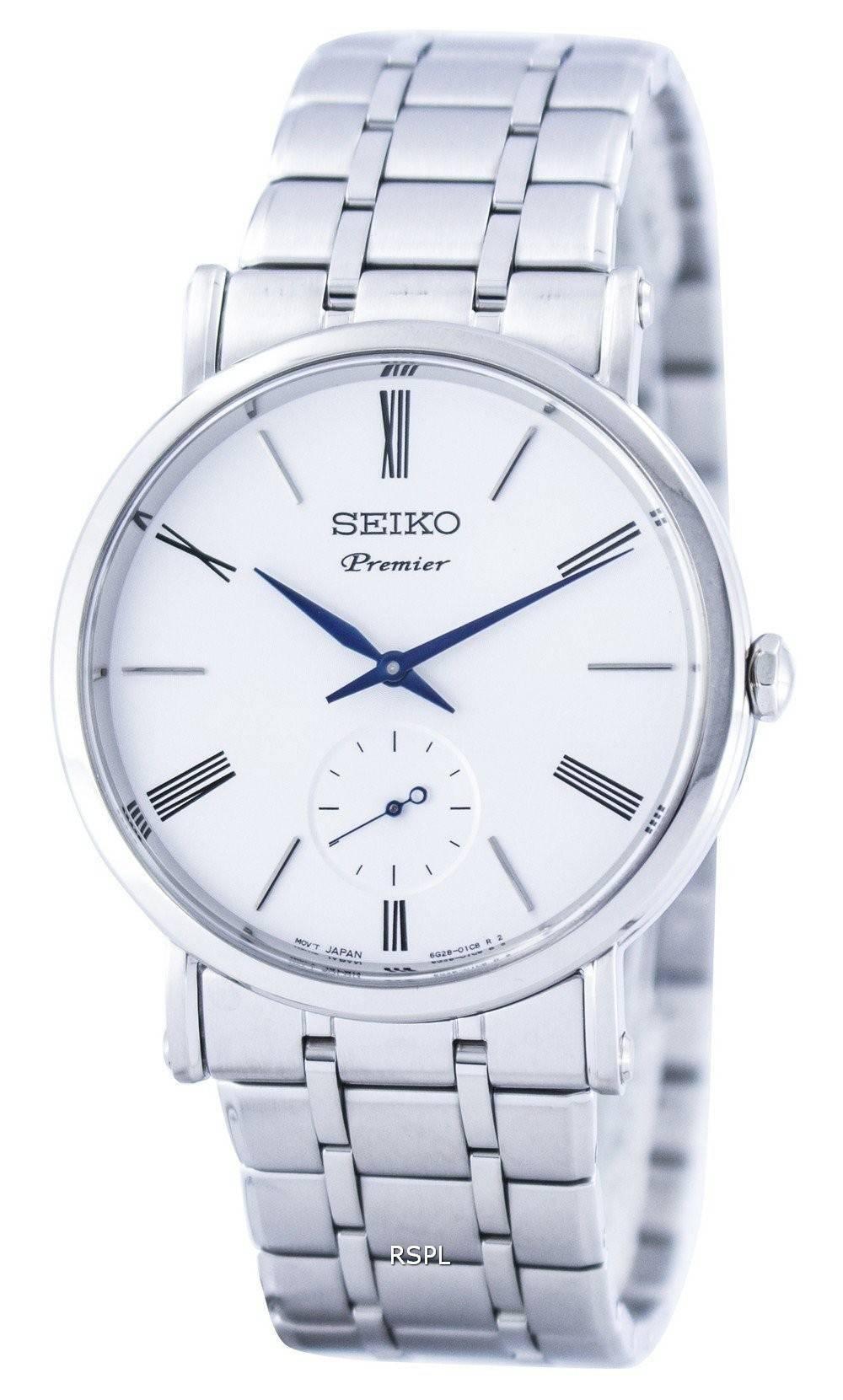 Seiko Premier Small Second Hand Quartz SRK033 SRK033P1 ...