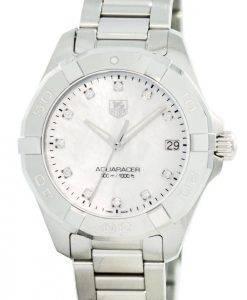 Tag Heuer Aquaracer Diamond Markers Quartz 300M WAY1313.BA0915 Women's Watch