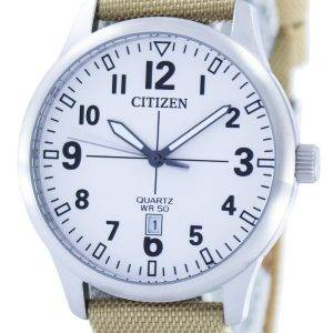 Citizen Quartz White Dial BI1050-05A Mens Watch