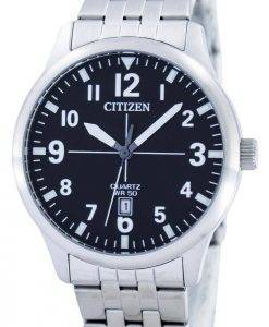 Citizen Quartz Black Dial BI1050-81F Mens Watch