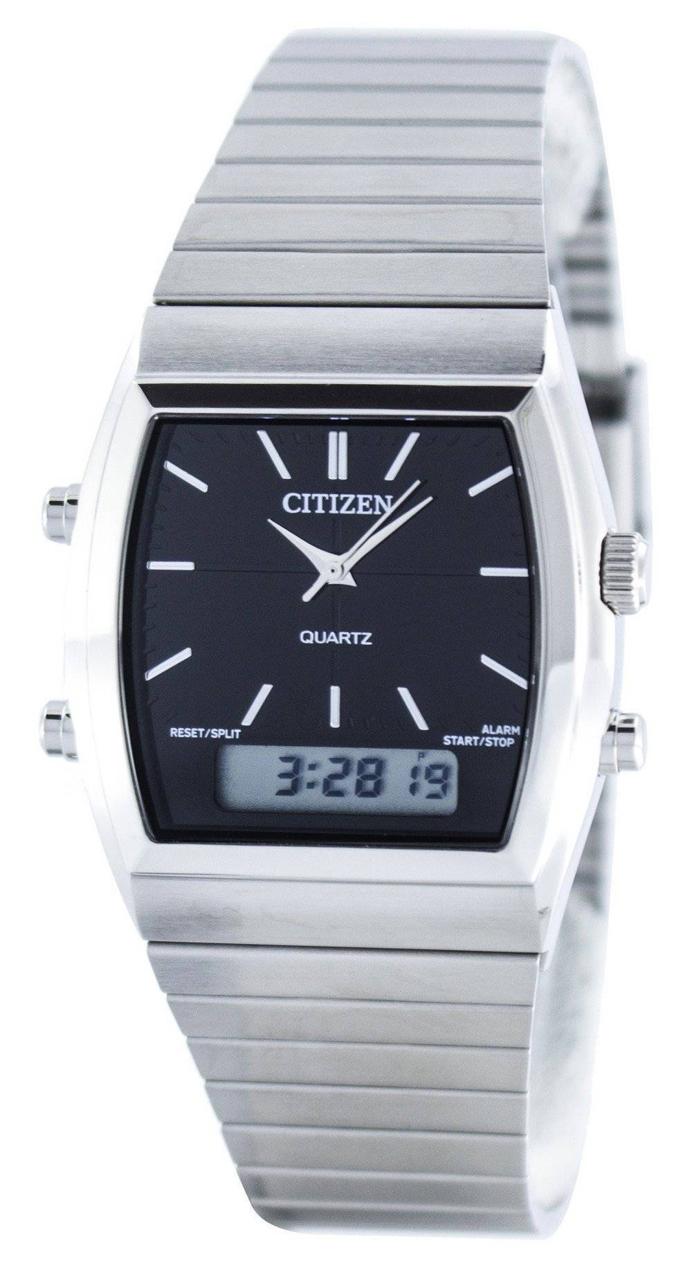 Citizen Quartz Alarm Chronograph Analog Digital JM0540-51E ...