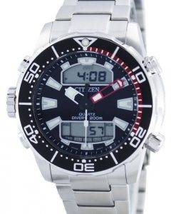 Citizen Aqualand Promaster Divers 200M Analog Digital JP1090-86E Mens Watch