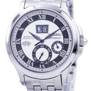 Seiko Premier Kinetic Perpetual SNP047 SNP047P1 SNP047P Mens Watch