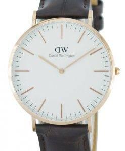 Daniel Wellington Classic York Quartz DW00100011 (0111DW) Mens Watch