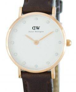 Daniel Wellington Classy Bristol Quartz Crystal Accent DW00100062 (0903DW) Womens Watch