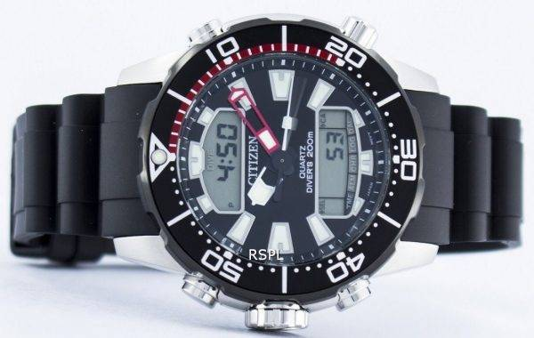 Citizen Aqualand Promaster Divers 200M Analog Digital JP1098-17E Mens Watch